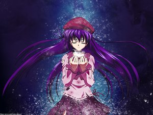 Rating: Safe Score: 45 Tags: nanao_naru purple_hair shihou_matsuri sola watermark User: ssagwp