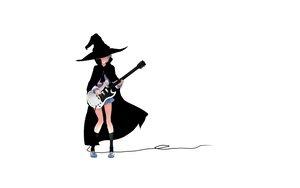Rating: Safe Score: 32 Tags: cape guitar hat instrument nagato_yuki school_uniform short_hair skirt socks suzumiya_haruhi_no_yuutsu white witch witch_hat User: Oyashiro-sama