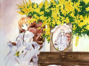 Rating: Safe Score: 21 Tags: card_captor_sakura clamp dress flowers kinomoto_nadeshiko kinomoto_sakura User: Oyashiro-sama