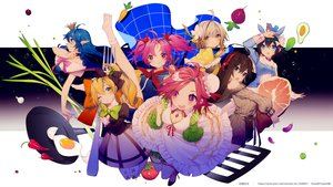 Rating: Safe Score: 24 Tags: animal animal_ears apron aqua_eyes bird black_hair blonde_hair blue_hair blush bow breasts brown_eyes brown_hair bunny_ears cape choker cleavage crown dress drink food green_eyes group headdress headphones long_hair orange_eyes pantyhose pink_hair pointed_ears ponytail prophet_heart red_eyes red_hair ribbons short_hair skirt socks stockings twintails watermark wink User: otaku_emmy