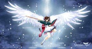 Rating: Safe Score: 25 Tags: akamatsu_ken mahou_sensei_negima sakurazaki_setsuna wings User: Oyashiro-sama