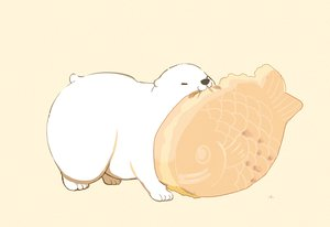 Rating: Safe Score: 19 Tags: animal bear brown cat_smile chai_(artist) food nobody original polychromatic signed taiyaki User: otaku_emmy