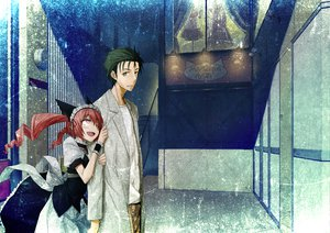 Rating: Safe Score: 55 Tags: 2c=galore faris_nyannyan okabe_rintarou steins;gate User: Tensa