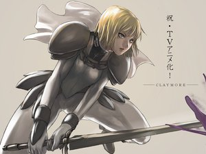Rating: Safe Score: 54 Tags: armor blonde_hair clare claymore short_hair sword tea_(nakenashi) weapon User: PAIIS