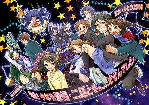 Rating: Safe Score: 28 Tags: asahina_mikuru asakura_ryouko ashakura black_hair blue_eyes blue_hair blush brown_eyes brown_hair chibi churuya fang glasses green_hair headphones koizumi_itsuki kyon kyonko long_hair mami_akira nagato_yuki seifuku short_hair stars suzumiya_haruhi suzumiya_haruhi_no_yuutsu suzumiya_haruhiko tsuruya User: Maho