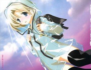 Rating: Safe Score: 20 Tags: blonde_hair blue_eyes miyashita_miki sky User: Oyashiro-sama