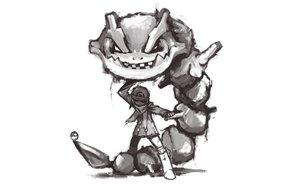 Rating: Safe Score: 51 Tags: boots gianoa hat hikari_(pokemon) monochrome pokemon scarf steelix User: SonicBlue
