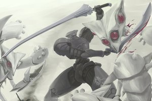 Rating: Safe Score: 42 Tags: armor blood demon haioman sword weapon User: SonicBlue