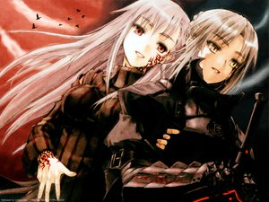 Rating: Safe Score: 3 Tags: artoria_pendragon_(all) dark_matou_sakura fate_(series) fate/stay_night matou_sakura saber saber_alter User: Oyashiro-sama