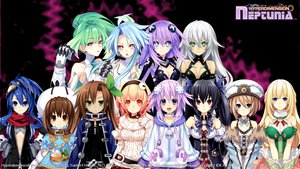 Rating: Safe Score: 179 Tags: black_hair black_heart blanc blonde_hair blue_eyes blue_hair bodysuit bow breasts brown_eyes brown_hair choker cleavage collar compa gloves goggles green_eyes green_hair green_heart group hat headband hyperdimension_neptunia hyperdimension_neptunia_mk2 if long_hair neptune nisa noire pink_eyes pink_hair purple_eyes purple_hair purple_heart red_eyes ribbons short_hair tsunako vert watermark white_heart User: S91DMC