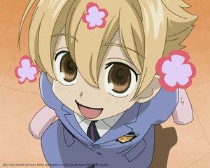 Rating: Safe Score: 3 Tags: blonde_hair brown_eyes close haninozuka_mitsukuni ouran_koukou_host_club short_hair User: Oyashiro-sama