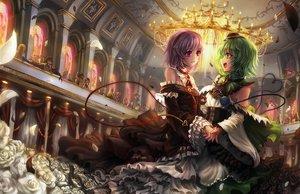 Rating: Safe Score: 184 Tags: 2girls alice_margatroid animal cat chen cirno dress fairy flandre_scarlet flowers freeze-ex green_hair hakurei_reimu hat headband hijiri_byakuren hong_meiling hoshiguma_yuugi inubashiri_momiji izayoi_sakuya japanese_clothes kaenbyou_rin kirisame_marisa kochiya_sanae komeiji_koishi komeiji_satori konpaku_youmu kumoi_ichirin miko mima moriya_suwako multiple_tails nazrin patchouli_knowledge petals pink_hair reiuji_utsuho remilia_scarlet rose rumia saigyouji_yuyuko shameimaru_aya shinki short_hair tail toramaru_shou touhou toyosatomimi_no_miko vampire witch wolfgirl yakumo_ran yakumo_yukari yasaka_kanako User: Flandre93