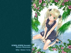 Rating: Safe Score: 8 Tags: blonde_hair green_eyes mikaru_mizusawa original twintails User: Oyashiro-sama