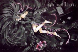 Rating: Safe Score: 33 Tags: alice_(pandora_hearts) bunny dark goth-loli lolita_fashion pandora_hearts ribbons scan User: Xtea