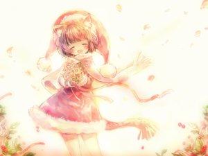 Rating: Safe Score: 29 Tags: animal_ears catgirl loli onineko original petals white User: w7382001