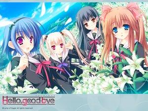 Rating: Safe Score: 28 Tags: flowers group hello_good-bye hiiragi_koharu moekibara_fumitake rindou_natsume saotome_suguri school_uniform yukishiro_may User: oranganeh