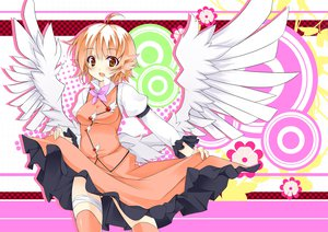 Rating: Safe Score: 60 Tags: jpeg_artifacts mystia_lorelei short_hair torisukerabasu touhou wings User: Wiresetc