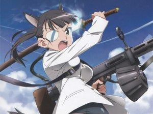 Rating: Safe Score: 16 Tags: animal_ears sakamoto_mio shimada_fumikane strike_witches User: anaraquelk2