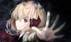 Rating: Safe Score: 84 Tags: blonde_hair close lit_ter red_eyes rumia short_hair touhou User: otaku_emmy