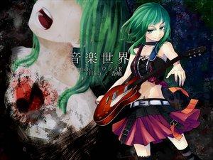 Rating: Safe Score: 54 Tags: guitar gumi instrument kashima skirt vocaloid User: HawthorneKitty