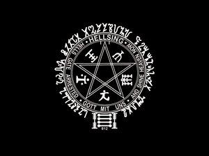 Rating: Safe Score: 17 Tags: black hellsing logo User: Oyashiro-sama