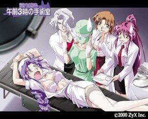 Rating: Safe Score: 22 Tags: bra nurse open_shirt tagme thighhighs underwear User: Oyashiro-sama