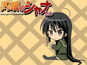 Rating: Safe Score: 12 Tags: black_hair brown_eyes chibi food shakugan_no_shana shana shana_tan User: Oyashiro-sama