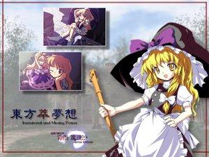 Rating: Safe Score: 3 Tags: ibuki_suika kirisame_marisa touhou witch User: Oyashiro-sama