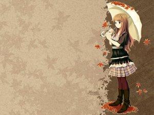 Rating: Safe Score: 34 Tags: autumn tagme umbrella User: 秀悟