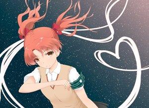 Rating: Safe Score: 53 Tags: bow brown_eyes brown_hair long_hair night ribbons school_uniform shirai_kuroko stars tear to_aru_kagaku_no_railgun to_aru_majutsu_no_index twintails User: kokiriloz