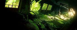 Rating: Safe Score: 72 Tags: dark green mocha_(cotton) nobody original ruins scenic shade signed stairs tree User: RyuZU