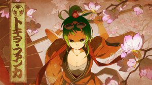 Rating: Safe Score: 123 Tags: breasts cherry_blossoms cleavage flowers glasses green_eyes green_hair gumi japanese_clothes katana short_hair sword tokio_funka_(vocaloid) tomioka_jirou umbrella vocaloid weapon User: FormX