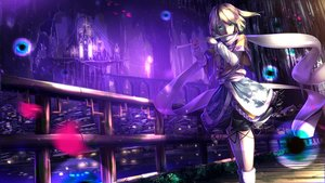 Rating: Safe Score: 193 Tags: blonde_hair building city dress flute green_eyes instrument kneehighs mizuhashi_parsee night petals pointed_ears ryosios scarf short_hair touhou User: Flandre93