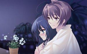 Rating: Safe Score: 48 Tags: blush flowers flyable_heart itou_noiji katsuragi_syo kimi_no_nagori_wa_shizuka_ni_yurete shirasagi_mayuri User: Tensa