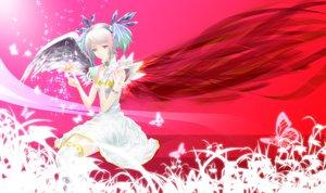 Rating: Safe Score: 45 Tags: angel butterfly nanami_sora original purple_eyes techgirl wings User: Zolxys