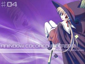 Rating: Safe Score: 18 Tags: nanao_naru rainbow_colored_icecream witch User: Oyashiro-sama