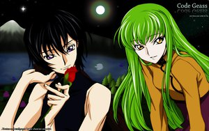 Rating: Safe Score: 15 Tags: cc code_geass flowers lelouch_lamperouge male rose User: N1