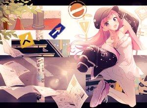 Rating: Safe Score: 57 Tags: dress hat original paper summer_dress suzumori_uina User: BattlequeenYume