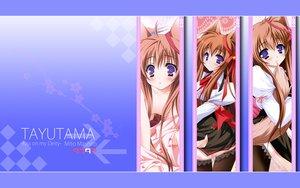 Rating: Safe Score: 31 Tags: animal_ears foxgirl mito_mashiro moekibara_fumitake tayutama User: w7382001