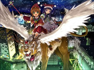 Rating: Safe Score: 20 Tags: card_captor_sakura daidouji_tomoyo kerberos kero kinomoto_sakura moonknives User: 秀悟