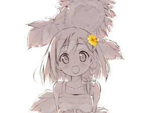 Rating: Safe Score: 101 Tags: 5_nenme_no_houkago flowers kantoku polychromatic scan sketch yua User: Wiresetc