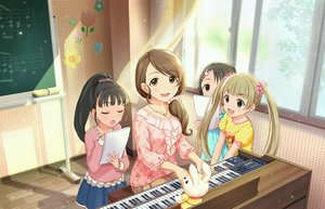 Rating: Safe Score: 17 Tags: annin_doufu black_hair brown_eyes dress fukuyama_mai group idolmaster idolmaster_cinderella_girls idolmaster_cinderella_girls_starlight_stage instrument loli long_hair mochida_arisa music necklace paper piano ponytail sasaki_chie skirt twintails yokoyama_chika User: luckyluna