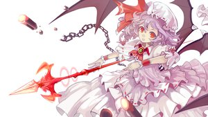 Rating: Safe Score: 50 Tags: chain red_eyes remilia_scarlet ryuuri_susuki spear touhou weapon wings User: FormX