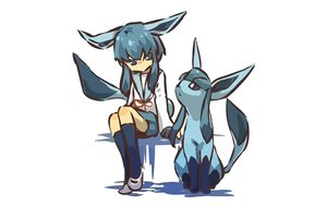 Rating: Safe Score: 110 Tags: glaceon hitec moemon pokemon school_uniform User: 秀悟