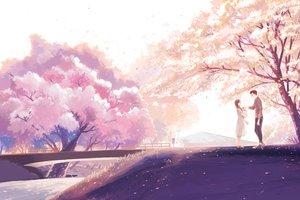 Rating: Safe Score: 62 Tags: cherry_blossoms flowers hanasei male original User: FormX