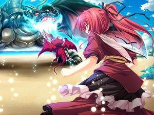 Rating: Safe Score: 23 Tags: game_cg magus_tale ponytail red_hair seera_finis_victoria tenmaso whirlpool User: Oyashiro-sama