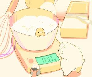 Rating: Safe Score: 17 Tags: animal bear bird chai_(artist) cropped food hat nobody original penguin polychromatic scarf signed User: otaku_emmy