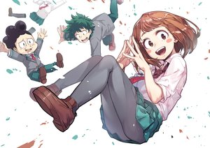 Rating: Safe Score: 33 Tags: boku_no_hero_academia male midoriya_izuku minoru_mineta newey uraraka_ochako User: RyuZU