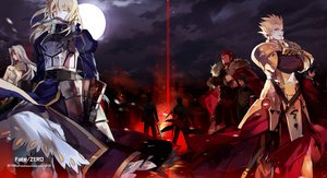 Rating: Safe Score: 92 Tags: armor emiya_kiritsugu fate/stay_night fate/zero gilgamesh irisviel_von_einzbern kotomine_kirei moon night saber starshadowmagician sword tohsaka_tokiomi waver_velvet weapon zero_rider User: opai