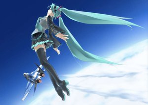 Rating: Safe Score: 59 Tags: hatsune_miku jpeg_artifacts vocaloid User: atlantiza